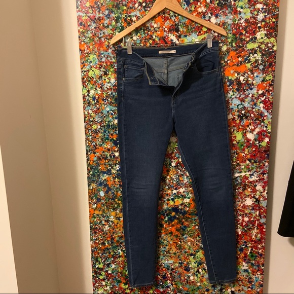Designers Levi's 729 Jeans worn once